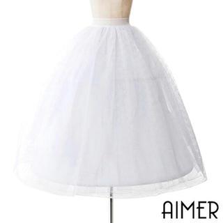 エメ(AIMER)のエメ パニエ(ウェディングドレス)
