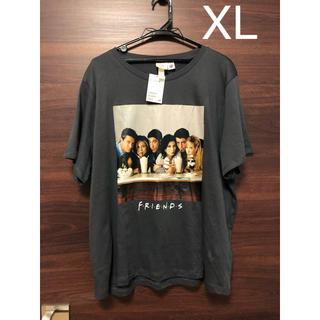 H&M - 未使用タグ付 海外ドラマ フレンズ  フォトプリント Tシャツ XL グレー