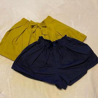 petit main - petit main スカート キュロット 2点セット