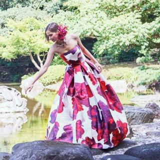 AIMER - エメ ステージドレス 芍薬 カラードレス
