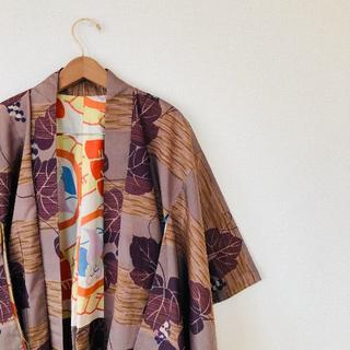 羽織 陣羽織 パターン 派手 和柄 個性派 アート 羽織コーデ 着物 大正(ブルゾン)