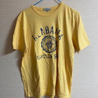シマムラ(しまむら)のメンズ 黄色Tシャツ(Tシャツ/カットソー(半袖/袖なし))