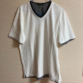 しまむら - メンズ 白系Tシャツ