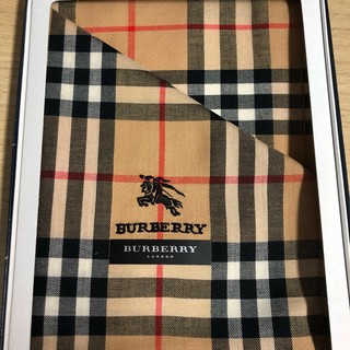 バーバリー(BURBERRY)の【新品未使用】バーバリー ハンカチ(ハンカチ)