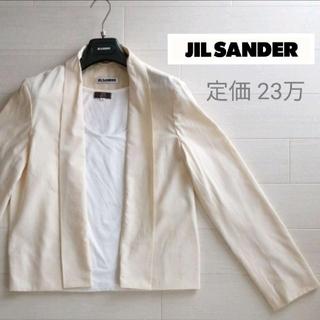 ジルサンダー(Jil Sander)のJIL SANDER⭐定価23.5万 春夏 ジャケット(ノーカラージャケット)
