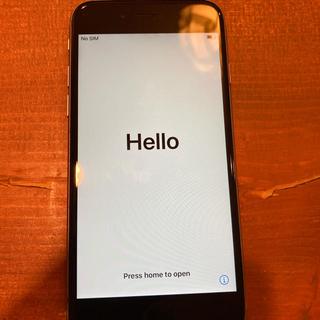 アップル(Apple)のiphone6s ブラック 64GB(スマートフォン本体)
