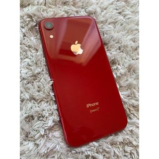 アイフォーン(iPhone)のiPhoneXR 64GB SIMフリー(スマートフォン本体)