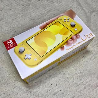ニンテンドースイッチ(Nintendo Switch)のNintendo Switch lite スイッチライト イエロー (家庭用ゲーム機本体)
