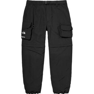 シュプリーム(Supreme)の【黒S】 Supreme x TNF Belted Cargo Pant(ワークパンツ/カーゴパンツ)