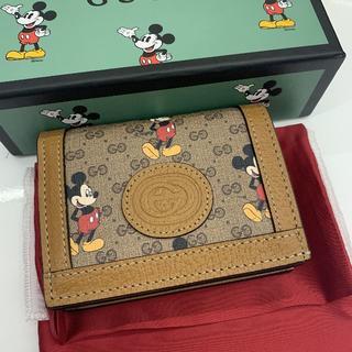 グッチ(Gucci)の限定 GUCCI ✖️ Mickey ミニウォレット 新品(財布)