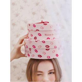 メゾンドフルール(Maison de FLEUR)のmaison de fleur メゾンドフルール リップ柄 box(ケース/ボックス)