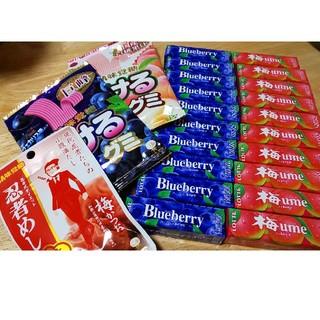 ユーハミカクトウ(UHA味覚糖)の#お菓子&ガム&グミ#の詰め合わせ‼️(菓子/デザート)