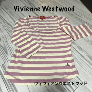 ヴィヴィアンウエストウッド(Vivienne Westwood)のVivienne Westwood ロンT  7分袖 ヴィヴィアンウエストウッド(Tシャツ(長袖/七分))
