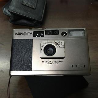 コニカミノルタ(KONICA MINOLTA)のTC-1 コニカミノルタ(フィルムカメラ)