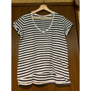 ザラ(ZARA)のZARA   ボーダー Tシャツ&タンクトップ  セット   S・M (Tシャツ(半袖/袖なし))