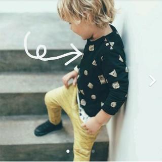 ザラキッズ(ZARA KIDS)の[ZARA BABY] 2-3y Geometric柄 薄手スウェットシャツ(Tシャツ/カットソー)