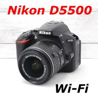 ニコン(Nikon)の❤️ガイドブック付き❤️Wi-Fi搭載❤️Nikon D5500(デジタル一眼)