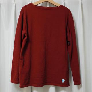 オーシバル(ORCIVAL)のオーシバル ORCIVAL ワインレッド カットソー(Tシャツ/カットソー(七分/長袖))