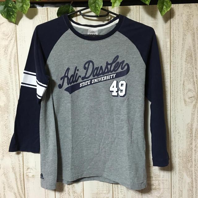 adidas(アディダス)のadidas 七分袖 Tシャツ レディースのトップス(Tシャツ(長袖/七分))の商品写真