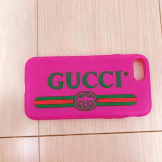 グッチ(Gucci)のGUCCI iPhone7.8.SE対応ケース(iPhoneケース)