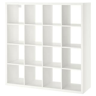 イケア(IKEA)のIKEA KALLAX カラックス 147×147 ホワイト(棚/ラック/タンス)
