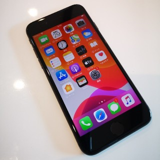 アイフォーン(iPhone)のソフトバンク iPhone8 黒 apple 64G 11(スマートフォン本体)