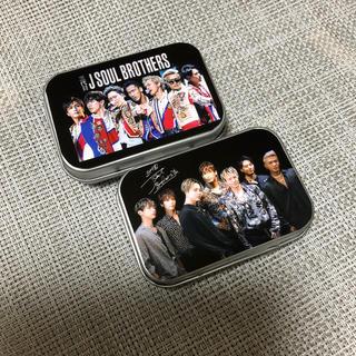 三代目J Soul Brothers ブリキ缶ケース 小物入れ ハンドメイド
