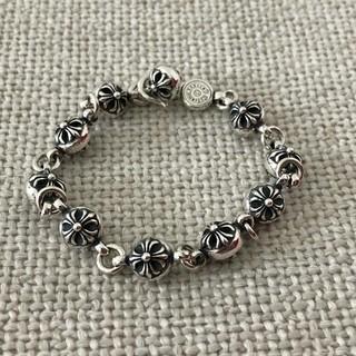 クロムハーツ(Chrome Hearts)のクロムハーツ クロスボール ブレスレット(ネックレス)