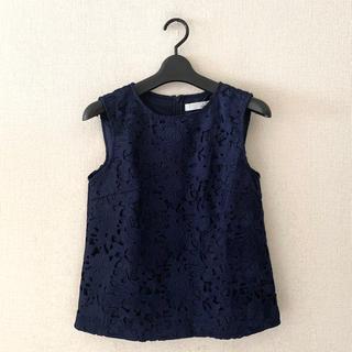 ティアラ(tiara)のTIARA♡ノースリーブシャツ(シャツ/ブラウス(半袖/袖なし))