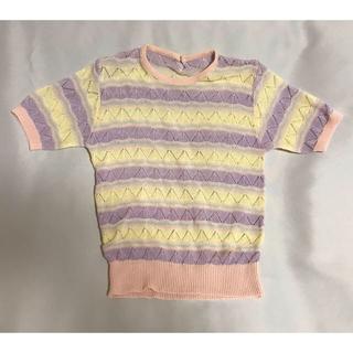 ウィゴー(WEGO)の古着屋購入 サマーニット(ニット/セーター)