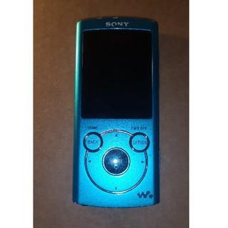 ウォークマン(WALKMAN)のSony ウォークマン ブルー Bluetooth対応(ポータブルプレーヤー)