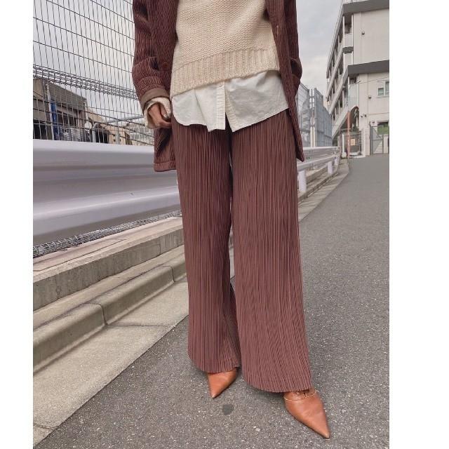 Ameri VINTAGE(アメリヴィンテージ)のameri vintage オトナミューズコラボパンツ レディースのパンツ(カジュアルパンツ)の商品写真