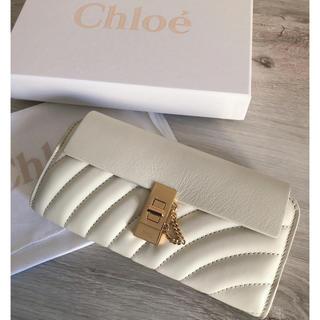 Chloe - Chloe 長財布♡ドリュー♡ホワイト