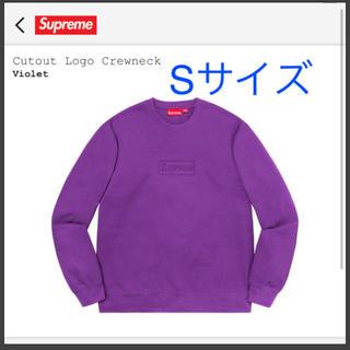 Supreme - Supreme  Cutout Logo Crewneck Sサイズ最安値