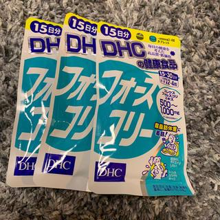 ディーエイチシー(DHC)のDHC フォースコリー 15日分 3袋(ダイエット食品)