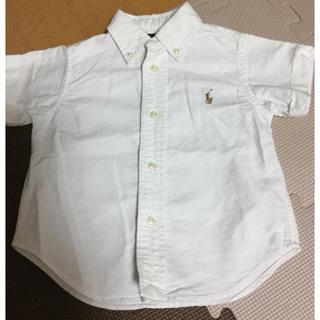 ラルフローレン(Ralph Lauren)のラルフローレン ボタンダウン シャツ 80(ブラウス)