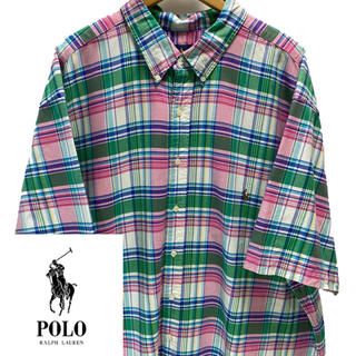 ポロラルフローレン(POLO RALPH LAUREN)のラルフローレン半袖チェックシャツ(シャツ)