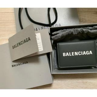 Balenciaga - 新品未使用 バレンシアガ  三つ折り財布 ミニ財布