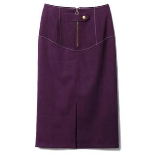 レディアゼル(REDYAZEL)のレディアゼル  スエードカラーペンシルスカート(ひざ丈スカート)