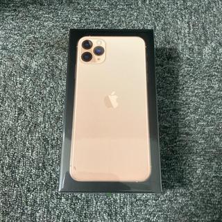 アイフォーン(iPhone)のiPhone 11 Pro Max ゴールド 512GB SIMフリー(スマートフォン本体)