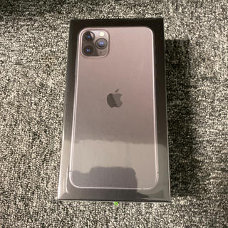 アイフォーン(iPhone)のiPhone 11 Pro Max スペースグレイ 512GB SIMフリー(スマートフォン本体)