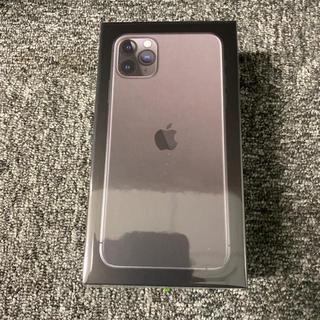 アイフォーン(iPhone)のiPhone 11 Pro Max スペースグレイ 256GB SIMフリー(スマートフォン本体)