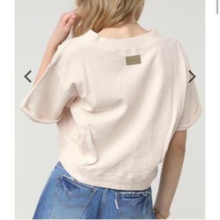 ALEXIA STAM - Short Sleeve Sweatshirt Ivory