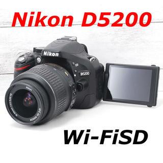ニコン(Nikon)の❤️Wi-FiSD付き❤️自撮り❤️Nikon D5200(デジタル一眼)