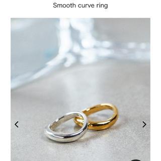 フィリップオーディベール(Philippe Audibert)のAletta/Smooth curve ring(リング(指輪))