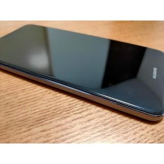 アンドロイド(ANDROID)のHUAWEI P10 Lite ミッドナイトブラック(スマートフォン本体)