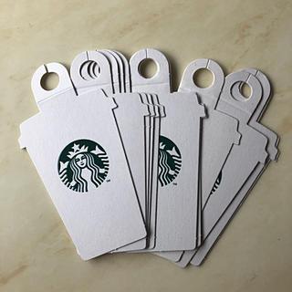 スターバックスコーヒー(Starbucks Coffee)のスターバックス タグ10枚       メッセージカード(カード/レター/ラッピング)