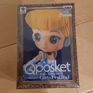 ディズニー(Disney)の新品 ディズニー Qposket フィギュア シンデレラ(アニメ/ゲーム)