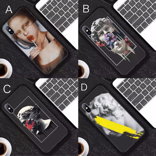 現代絵画風 モダン iPhoneケース(iPhoneケース)