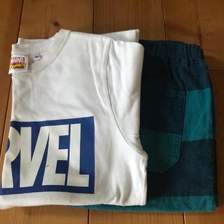 ジーユー(GU)のGU Tシャツ&ハーフパンツ(Tシャツ/カットソー)